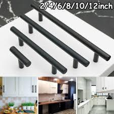 black t bar kitchen cupboard handles details about black kitchen cabinet handles t bar drawer pulls stainless steel wardrobe knobs