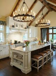 a frame kitchen ideas rustic white kitchen ideas white kitchen chandelier astounding