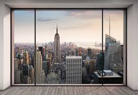 amazon com komar 8 916 penthouse wall mural home improvement