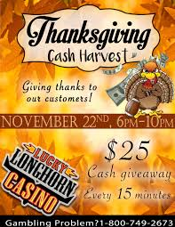thanksgiving november 22 thanksgiving cash harvest