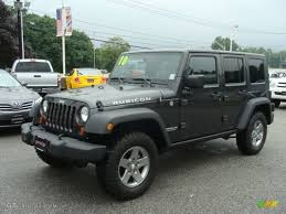 charcoal black jeep 2010 dark charcoal pearl jeep wrangler unlimited rubicon 4x4