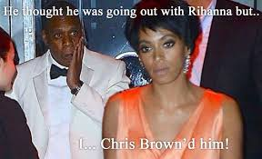 Jay Z Beyonce Meme - fans memes explain why solange was fighting jay z why beyonce did