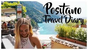 positano italy travel diary 2016