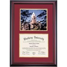 diploma frames winthrop diploma frames diploma display ocm