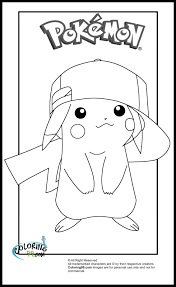 pokemon color pages pikachu printable coloring pages coloring pages pikachu free printable