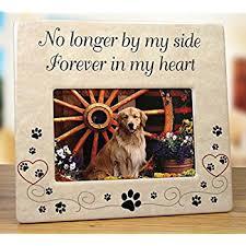pet memorial pet memorial ceramic picture frame no longer by my
