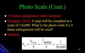 What Is A Map Scale Photogrammetry 1 آ رحمانی زاده 1 فصل 11 برنامه ريزي پرواز