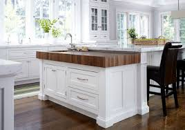 kitchen island block butcher block in kitchen design furnish burnish