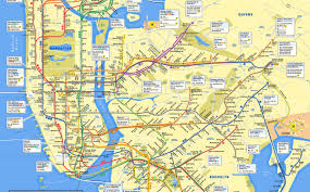 Manhatten Subway Map by Mta Subway Map Gets A Makeover It U0027s All About Manhattan Nbc New