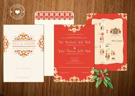 my design eka u0026 andry u0027s wedding invitation design package