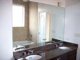 Mirrored Bathroom Walls Wall Mirrors Bath Wall Mirror Delta Custom Mirrors Bathroom Wall