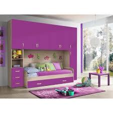 chambre a coucher avec pont de lit chambre d enfant complète hurra combiné lit pont décor orme
