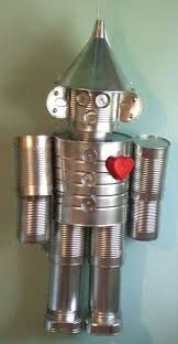Upcycle Crafts - the tin man