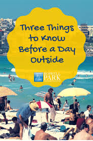keep these tips in mind before going outside sun safety