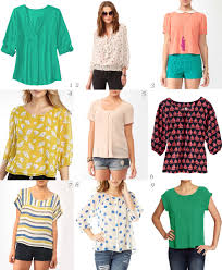 summer blouses über chic for cheap must summer blouses