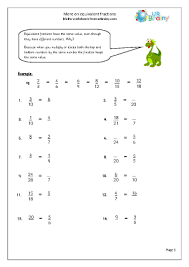 more on equivalent fractions