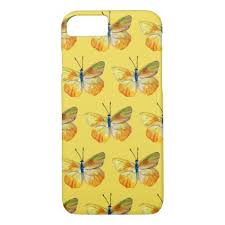 yellow butterfly apple iphone 8 7 barely there iphone 8 7