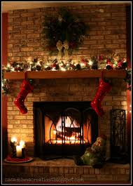 decoration fantastic christmas decorations for fireplace mantel