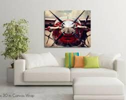 Aviation Home Decor Aviation Canvas Art Etsy