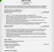 Elementary Teacher Resume Sample by Download Educational Resume Template Haadyaooverbayresort Com