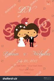 Designs Of Marriage Invitation Cards Vector Design Wedding Card Wedding Couple Stock Vector 626343419