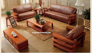 Solid Wood Living Room Furniture High Quality Soft F Brown Low Back China Office Solid Wooden
