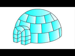 igloo 339 how to draw igloo for kids step by step drawing youtube