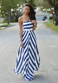 great looks with striped dresses