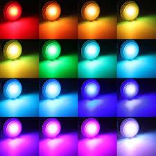 3x e27 9w ir remote 16 color change rgb led bulbs 85
