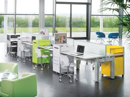 tech office design amazing hi tech office design with white wooden floating