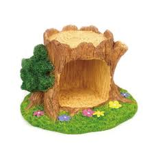 shop 1 pcs mini tree stump resin bonsai crafts grassland