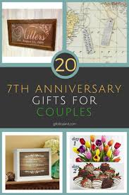 best wedding anniversary gifts 20 great 7th wedding anniversary gift ideas for him