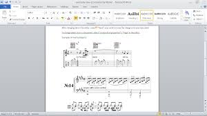 format lop word 2010 magicscore notation for ms word