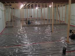 Install Laminate Flooring In Basement Vapor Barrier Basement Floor Laminate