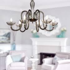 grey acrylic 6 lights chandelier at lightingbox com canada