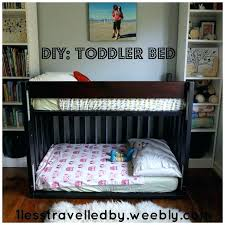 Toddler Bunk Bed Plans Diy Toddler Bed With Storage Toddler Bed Best Bunk Bed Crib Ideas