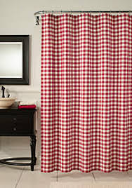 Shower Curtains With Red Shower Curtains Belk
