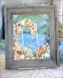 nautical beach decor coastal ocean wave art sea shell home decor