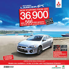 mitsubishi dubai mitsubishi lancer ex special offer great news to begin the month