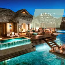 are you looking for over the water bungalows east west global
