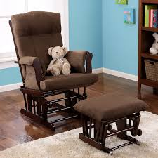 Leather Rocking Chair Furniture Glider Rocking Chair For Your Cozy Nursery Furniture