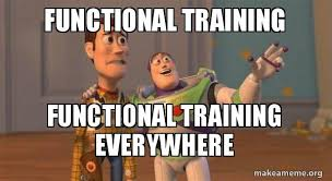 Training Meme - functional training functional training everywhere buzz and woody
