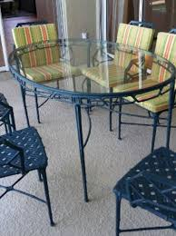Dining Room Arm Chairs 9 Pc Brown Jordan Calcutta Patio Set Dining Table Arm Chairs End