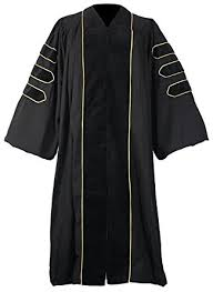 doctoral graduation gown graduationmall deluxe doctoral graduation gown for faculty and