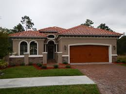 Tuscan Style Homes by Ormond Beach Florida New Home Model For Sale Vanacore Homes In