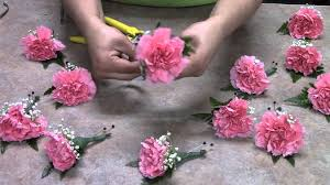 houston florist houston florist diy boutonniere with carnations