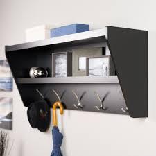walmart wood shelves innovation interesting interior storage design with coat rack