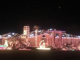 The Best Christmas Light Displays by The Best And Brightest Christmas Displays In Town U2013 St George News