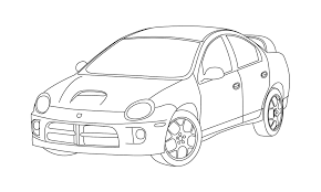 4 door jeep drawing srt 4 line drawing dodge srt forum clip art library