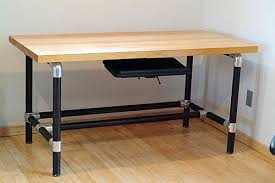Custom Desk Plans Stunning Diy Pipe Desk Plans Insideways Diy Custom Desk Drk